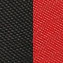 Черная + красная ткань