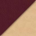 Иск. борд.+ бежевая кожа
