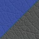 Иск. кожа металлик + синий