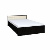Кровать 1600 Амели 2 с основанием металл (венге)