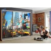 Шкаф-купе Лео 2100 (Манхэттен)
