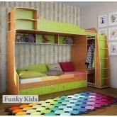 Двухъярусная кровать Фанки Кидз 12