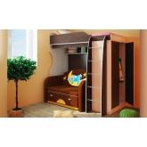 Детская модульная мебель Фанки Кидз 11 (композиция 2)