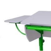 Приставка боковая (белая/зеленая)