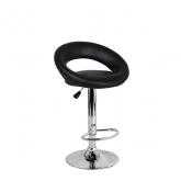 Барный стул Мира WX-1189 экокожа, черный