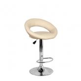 Барный стул Мира WX-1189 экокожа, бежевый