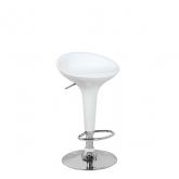 Барный стул Бомба D-18, белый