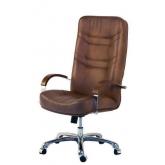 Кресло руководителя  Министр хром
