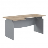 Письменный стол OCET 169 L Offix New сонома