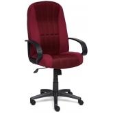 Кресло СН833 ткань/сетка, бордо/бордо, 2604/13