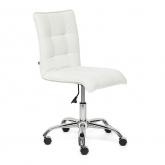 Кресло офисное «Зеро» (Zero white) экокожа