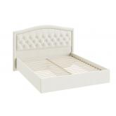 Двуспальная кровать с мягкой спинкой СМ-300.01.11(1) Адель