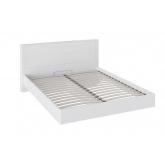 Кровать 1600 СМ-208.01.01 Наоми (белый глянец)
