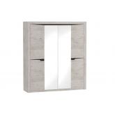 Шкаф 4х дверный Соренто (Дуб Бонифаций)