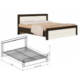Кровать 1400 Токио (вудлайн)