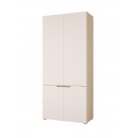 Шкаф Анталия 2-х створчатый (сонома/белый софт)
