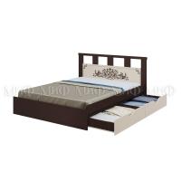 Кровать Жасмин 1,6 с ящиками