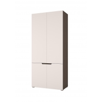 Шкаф Анталия 2-х створчатый (венге/белый софт)