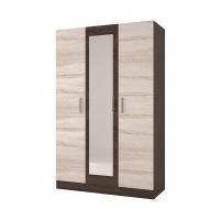 Шкаф 3-х дверный Леси (Уют-1) кантер/сонома