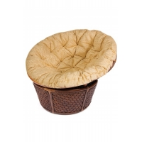 Кресло из ротанга «Андреа» (Andrea 23/01B) + подушка