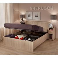 Кровать 1400 с подъемным механизмом 43.2 Sherlock (дуб сонома)