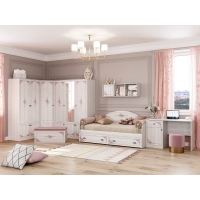 Комплект мебели подростковой комнаты №1 Эльза