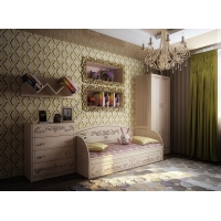 Комплект мебели для детской комнаты Фанки Кидз Классика №6
