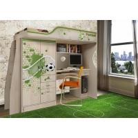 Кровать-чердак для детей Футбол Фанки Кидз ФУТ-4