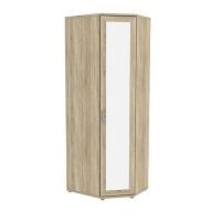 Несимметричный угловой шкаф с зеркалом 537.02 Гарун-К