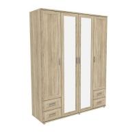 Шкаф для одежды с зеркалами 514.08 Гарун-К