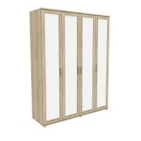 Шкаф для одежды с зеркалами 514.02 Гарун-К