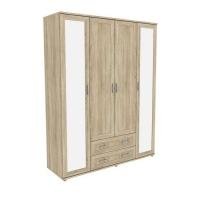 Шкаф для одежды с зеркалами 514.04 Гарун-К
