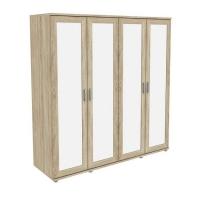 Шкаф для одежды с зеркалами 414.02 Гарун-К