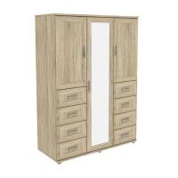 Шкаф для одежды с зеркалом 413.10 Гарун-К