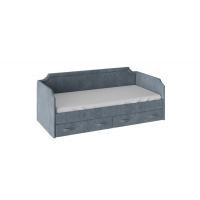 Кровать с мягкой обивкой Кантри ТД-308.12.02