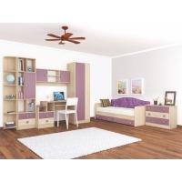Комплект мебели для детской №1 Колибри Виола