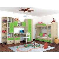 Комплект мебели для детской №2 Колибри Мохито