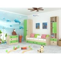 Комплект мебели для детской №4 Колибри Мохито