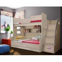 Кровать для троих детей, арт. 21 Фанки Кидз Лилак