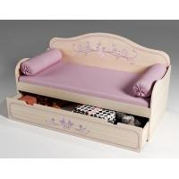 Одноярусная кровать Фанки Кидз Лилак арт. 40021
