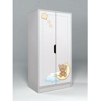 Низкий двухдверный шкаф Мишки Тедди