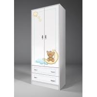 Двухдверный шкаф Мишки Тедди