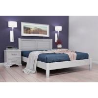 Кровать Грация-3 (140*200) белый античный