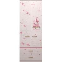 Шкаф для одежды с ящиками Принцесса №20