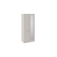 Шкаф для одежды с зеркалом левый Сабрина СМ-307.07.221-01L