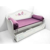 Кровать с узором Синдерелла