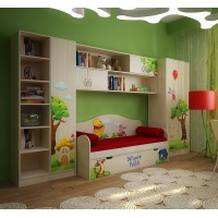 Комната для детей №4 Винни Пух