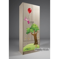 Шкаф-гардероб Винни Пух