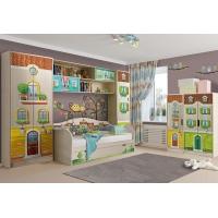 Комплект детской мебели Волшебный город №1