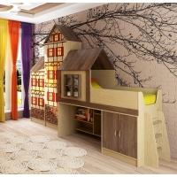 Комплект детской мебели Домик Фанки Кидз №5